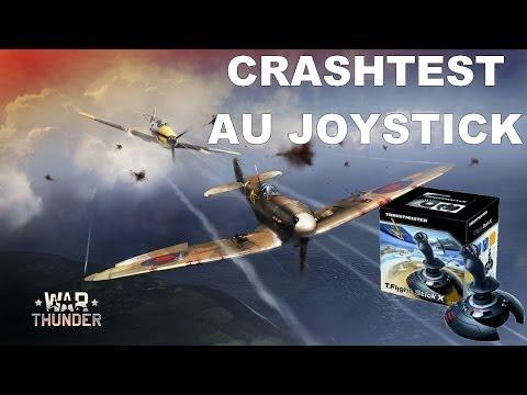 War Thunder : Piloter au Joystick en vue cockpit