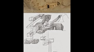 Ancient Shaft System Under The Giza Plateau Of Egypt