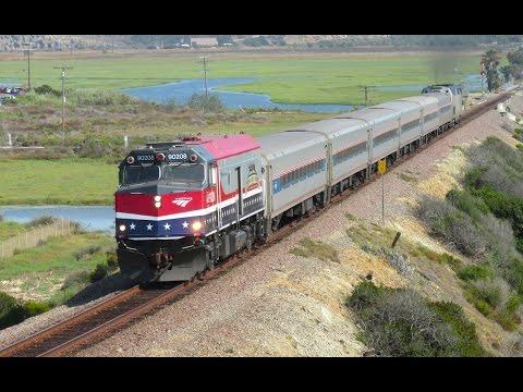 Amtrak Pacific Surfliner Trains