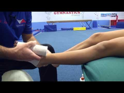How Should A Gymnast Care for An Ankle Injury, The First 72 Hours