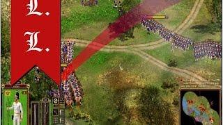 Cossacks 2 Battle for Europe: online battle Aspern-Essling. L.L. (Austria) vs dack70 (France)(#15)