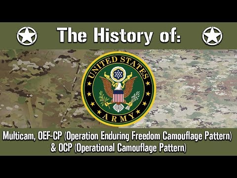 The History Of: The US Army Multicam, OEF-CP & Operational Combat Pattern (OCP) | Uniform History