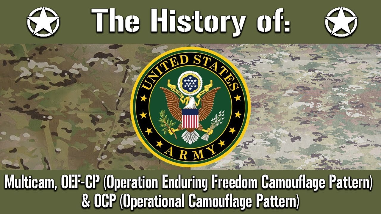 The History of: US Army Multicam, OEF-CP & OCP | Uniform History