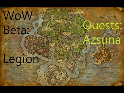 iZocke WoW Beta: Legion Quests in Azsuna #099 - Untersuchung in Mak'rana (Weltquest)