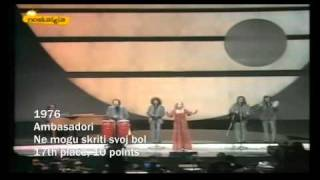 YUGOSLAVIA's History in the Eurovision Song Contest (1961-1992)