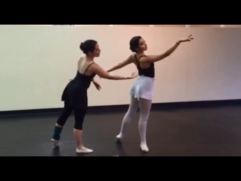 San Antonio Video Ballet Lessons Advanced Fourth Arabesque Youtube