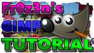 Thumbnail erstellen / GIMP Tutorial [German] [HD+]