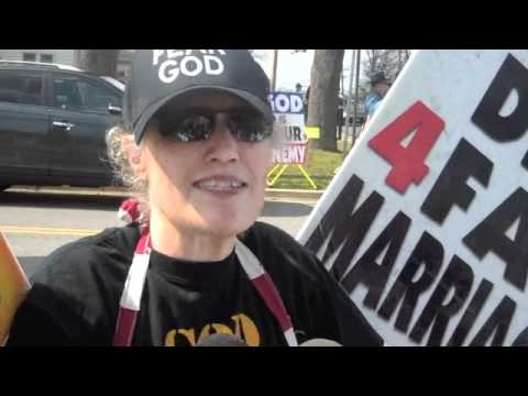 Westboro Baptist Protest March 13, 2012