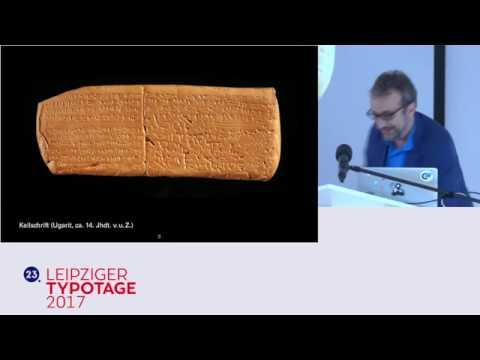 Leipziger Typotage 2017 • Vortrag Werner Wolff