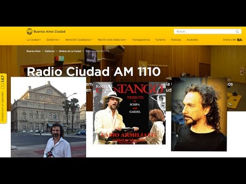 FABIO ARMILIATO: Intervista Radio Teatro Colon AM1110