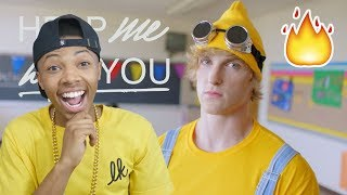 Logan Paul - Help Me Help You [Official Music Video] Reaction