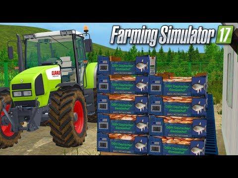 ENFIN DU POISSON !!! 🐟 (Le vieux marais) - Farming simulator 17