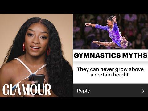 Simone Biles Debunks Every Gymnastics Myth | Glamour