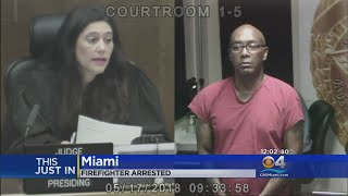 Miami Firefighter Accused Of Threatening Ex-lover With Gun