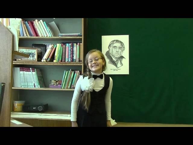 Изображение предпросмотра прочтения – ВикторияВернедуб читает произведение «Свинья под дубом» И.А.Крылова