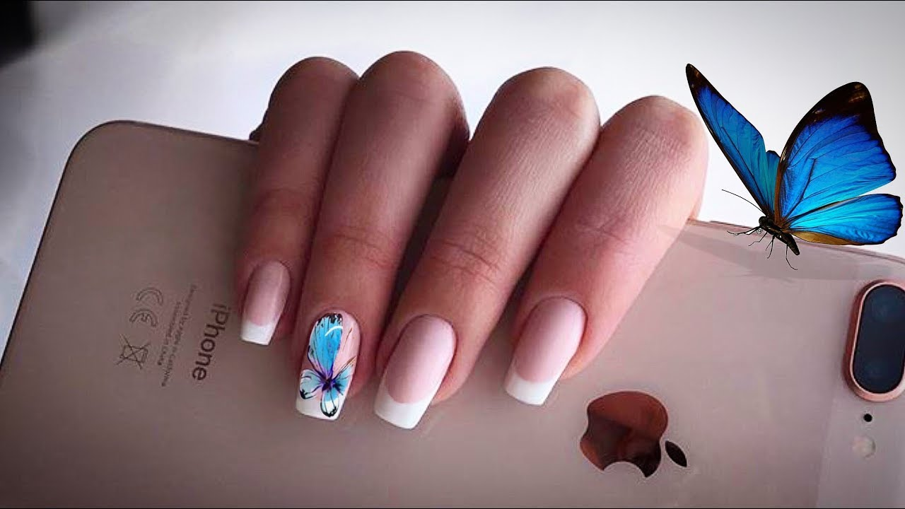 Simply the best nails extensions technique and manicure tutorial simply the best nails extensions technique and manicure tutorial with butterfly nail art design 2018 prinsesfo Choice Image