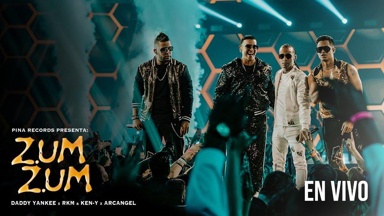 Daddy Yankee , Rkm & Ken-Y , Arcangel  ???????? - Zum Zum [Live Premios Juventud]