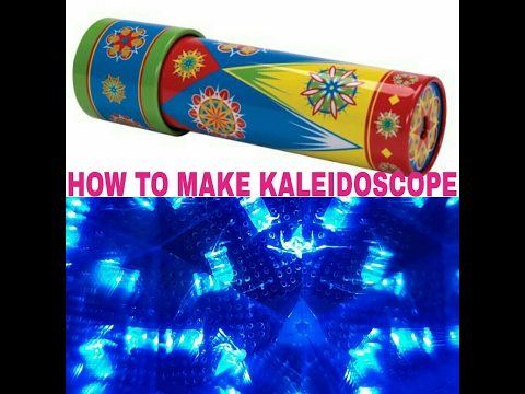 How To Make A Kaleidoscope | DIY Craft For Children
