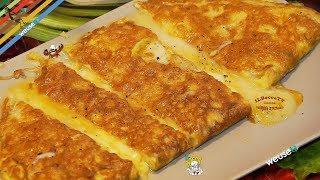 387 - Omelette ai 4 formaggi...rimanete nei paraggi! (ricetta antipasto/secondo omelette gustosa)