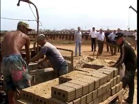 Каспийский кирпичный завод. решать экологические проблемы сообща