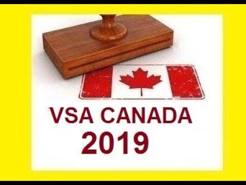 DEMANDE VISA CANADA 2019