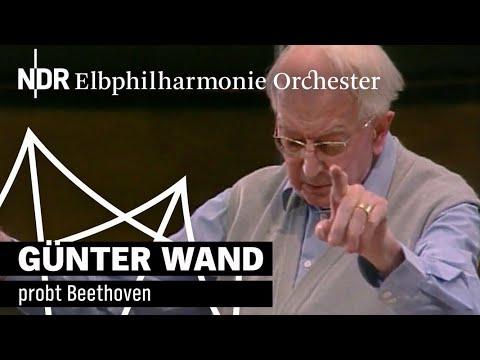 Günter Wand probt Beethoven | NDR