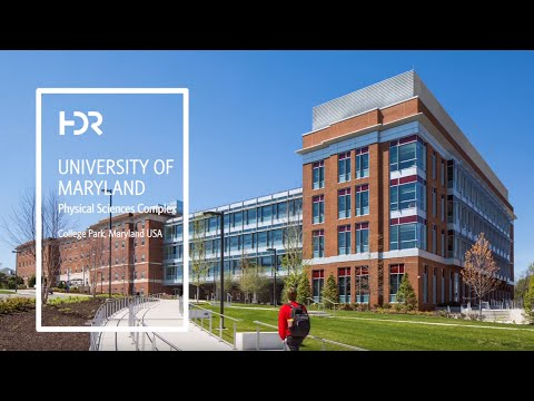 University of Maryland Physical Sciences Complex