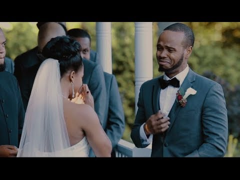This Groom's Reaction To His Bride's Vows Will Absolutely MELT YOU   Jaynandez Films