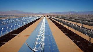 Megakraftwerk in der Wüste: Marokko schaltet auf Sonnenenergie um