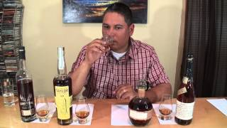 Blanton's, Booker's, E.H. Taylor Jr & Stagg Barrel Proof Bourbons Reviewed