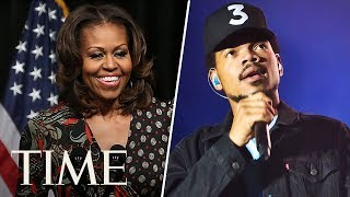 Michelle Obama Congratulates Chance The Rapper On His BET Award In A Surprise Video Message | TIME