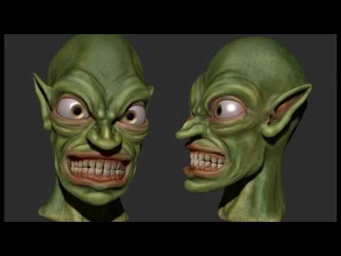 Goblin - Zbrush/Cinema 4D Speed Sculpt