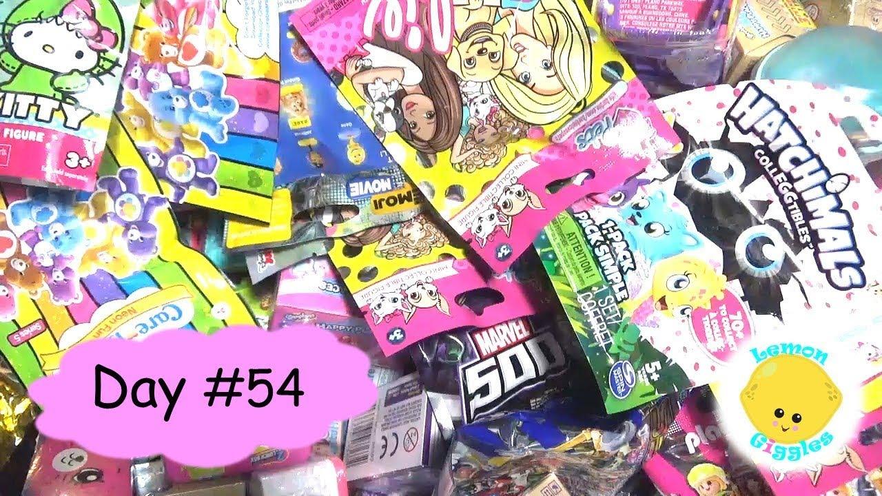 Random Blind Bag Basket 54  Shopkins S8 Barbie Fashem Hello