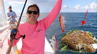 How to COOK Almond Crusted Snapper! ( JUST TRY IT! ) thumbnail