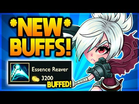 *NEW META* RIVEN BUILD GETS BUFFED! + Riven Runes Nerfs! (Patch 9.10)
