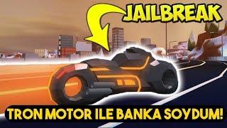 Tron Motor İle Banka Soydum! OHA! / Roblox Jailbreak