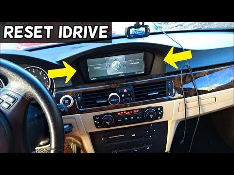 How To Hard Reset Idrive Ccc On Bmw E90 E92 E91 E60 E61 X5 Youtube