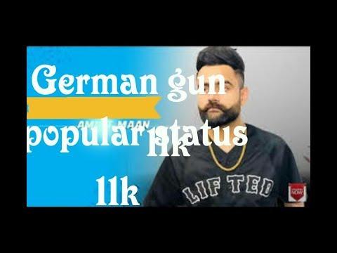 Germangunamritmaan German Gun Song By Amrit Maan
