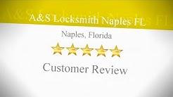 A & S Locksmith Review Aqualane Shores FL 239 919 6189