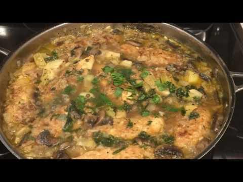 Recipe: Chicken Piccata with Artichoke Hearts