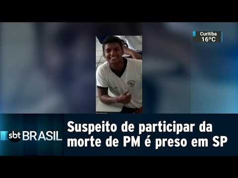 Suspeito de participar da morte da PM Juliana Duarte é preso em SP | SBT Brasil (08/08/18)