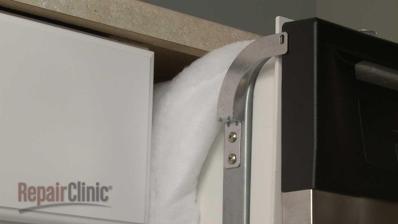Dishwasher Mounting Bracket Replacement  GE Dishwasher Repair Part WX13X10001  YouTube