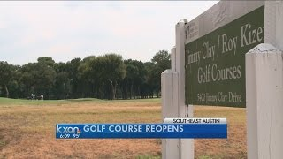 Jimmy Clay Golf Course Reopens