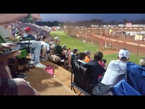 Dixie Speedway crash