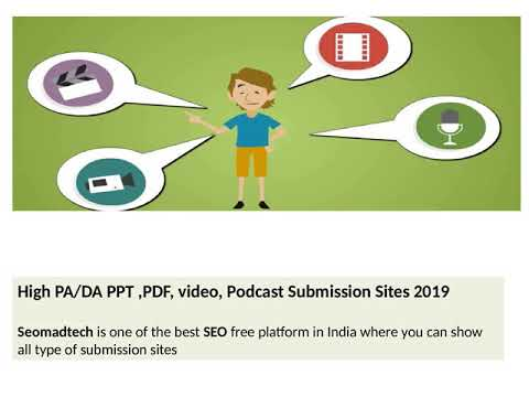 Article submission| Directory submission | blog submission | Bookmarking  submission |