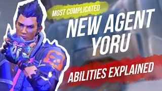 *NEW* Agent Yoru! Tнe most complicated agent so far?!