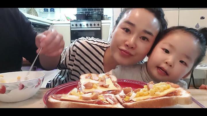 아기랑 요리 - 피자 만들기 [강한성 Vlog]