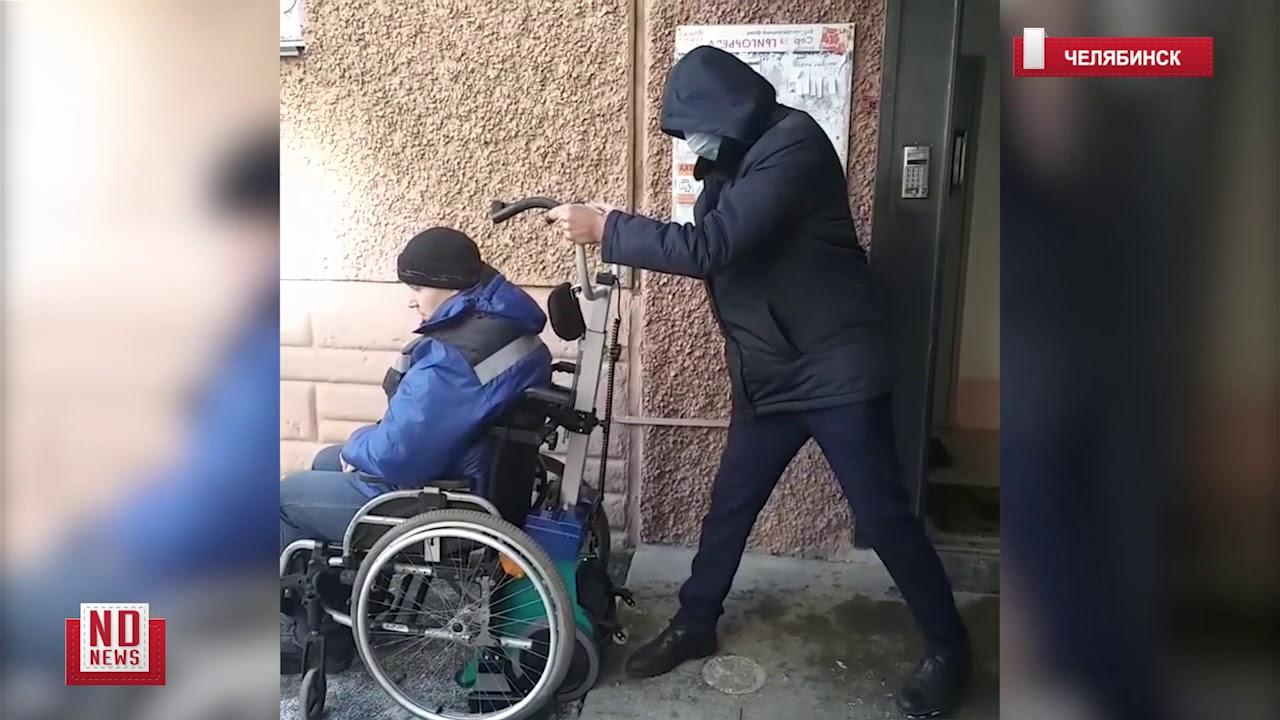 Ступенькоход для инвалида. Как пользоваться? Показываем!