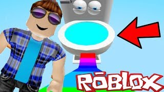 Roblox Adventures / Don't Fall in the Toilet Obby / Escaping the Toilet