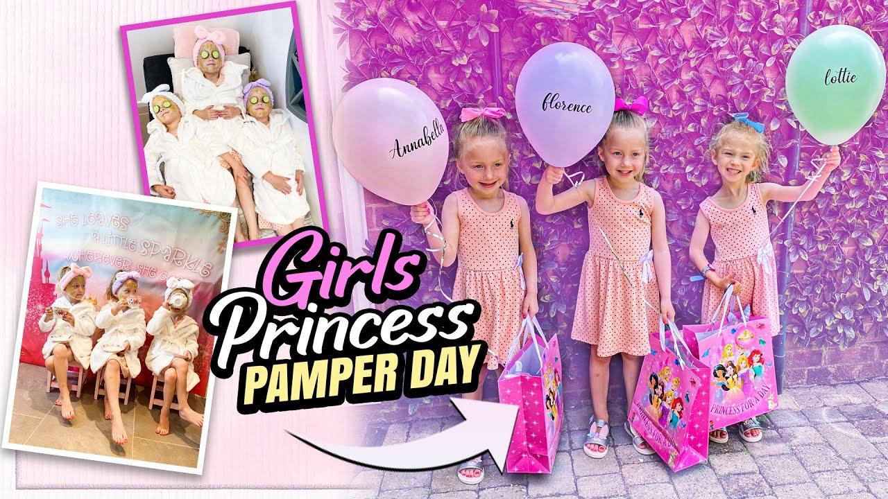 KIDS Pamper Spa Day   Triplets Spa   The Galballys